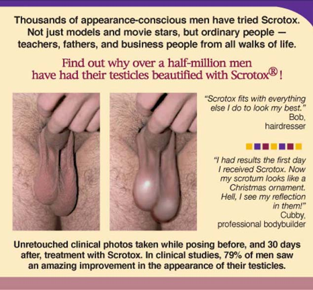 Did you know beauty scrotox
