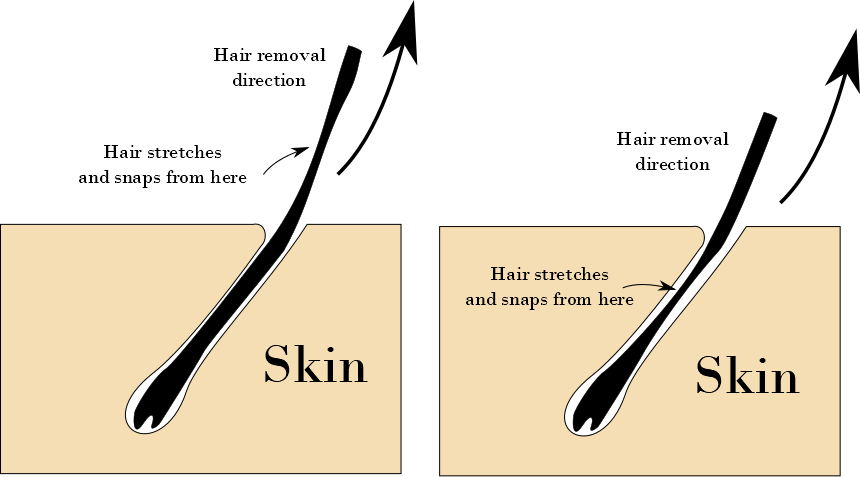 Hard and soft wax hair removal direction debate - Did You